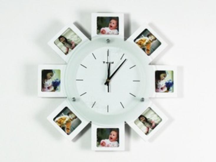 Фото - Часы настенные семейные на 8 фото купить в киеве на подарок, цена, отзывы