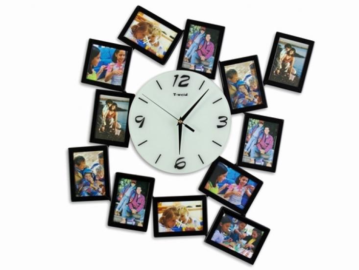 Фото - Часы настенные фигурные на 12 фото купить в киеве на подарок, цена, отзывы
