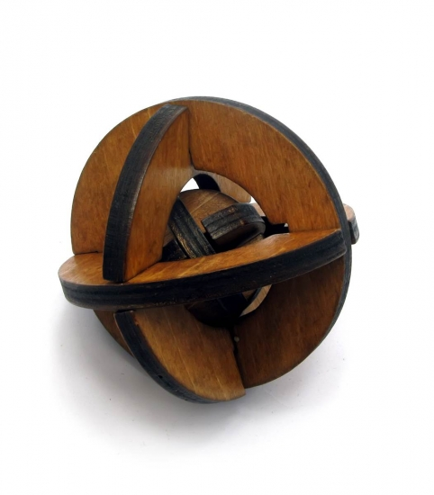 Фото - Головоломка Деревянные сферы купить в киеве на подарок, цена, отзывы