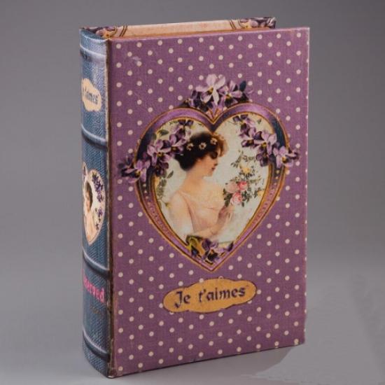 Фото - Книга сейф с ключиком Я тебя люблю 27см купить в киеве на подарок, цена, отзывы