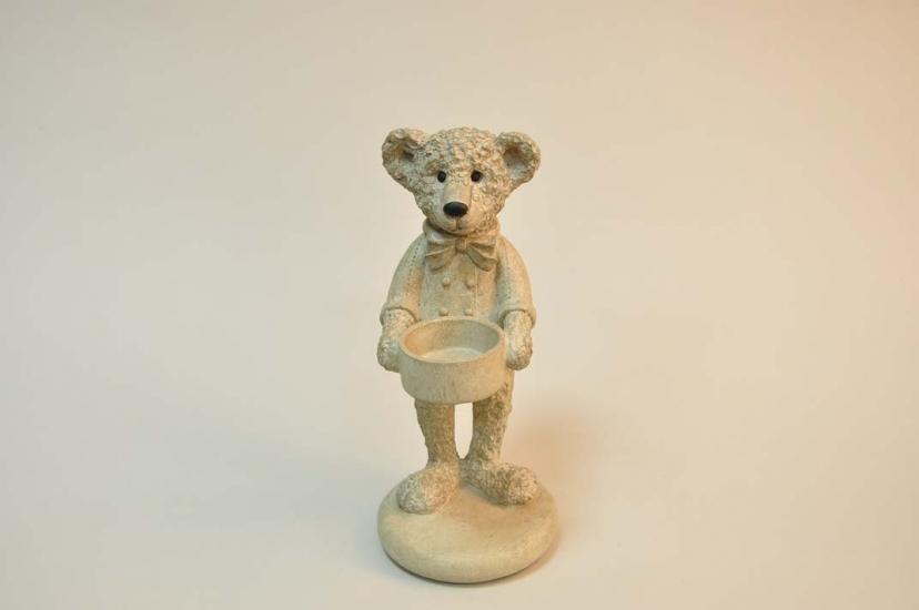 Фото - Подсвечник Мишка Тедди купить в киеве на подарок, цена, отзывы