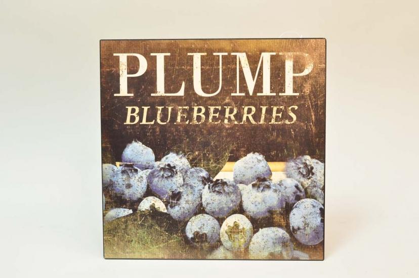 Фото - Декоративный Панно металл Blueberries  купить в киеве на подарок, цена, отзывы