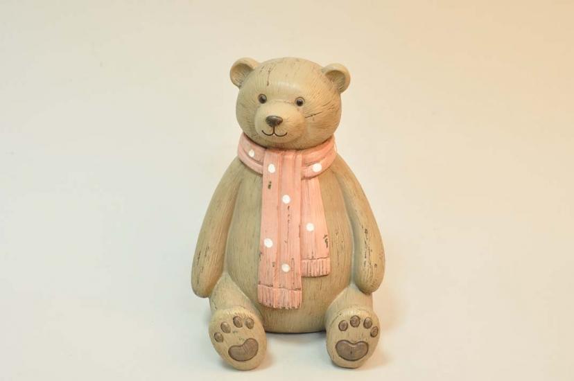 Фото - Оригинальная копилка Мишка с шарфом купить в киеве на подарок, цена, отзывы