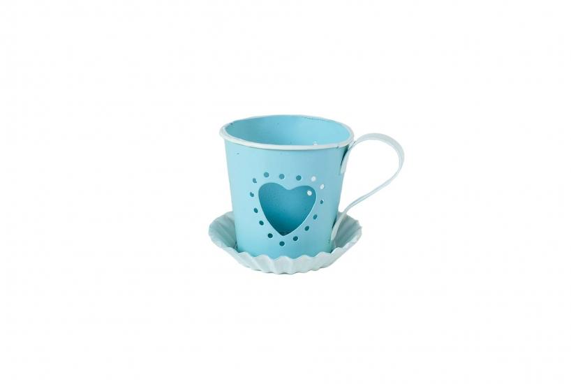 Фото - Оригинальный подсвечник в форме чашки купить в киеве на подарок, цена, отзывы