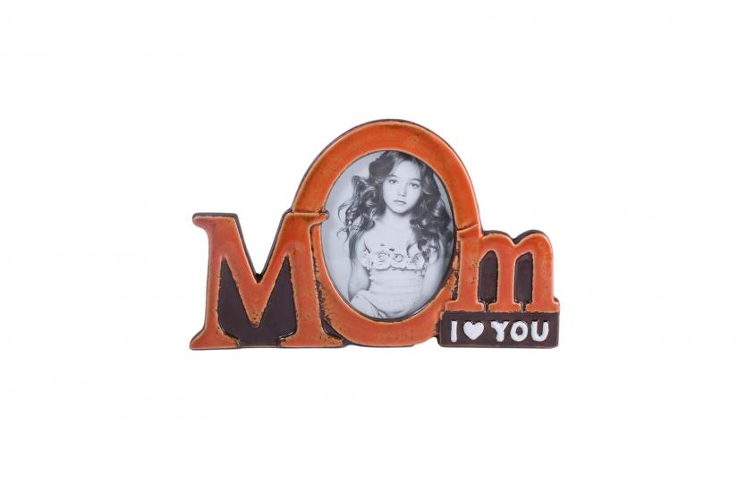 Фото - Фоторамка MOM I love you купить в киеве на подарок, цена, отзывы