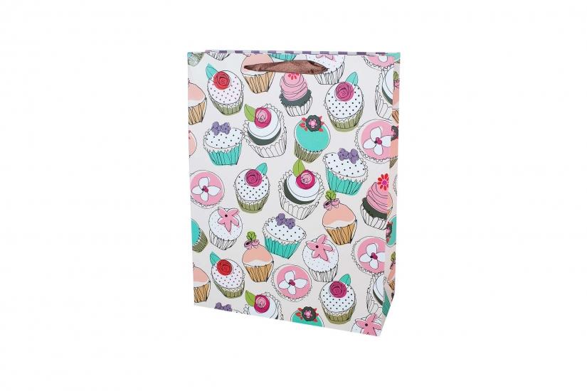 Фото - Подарочный пакет 35см Cupcake купить в киеве на подарок, цена, отзывы