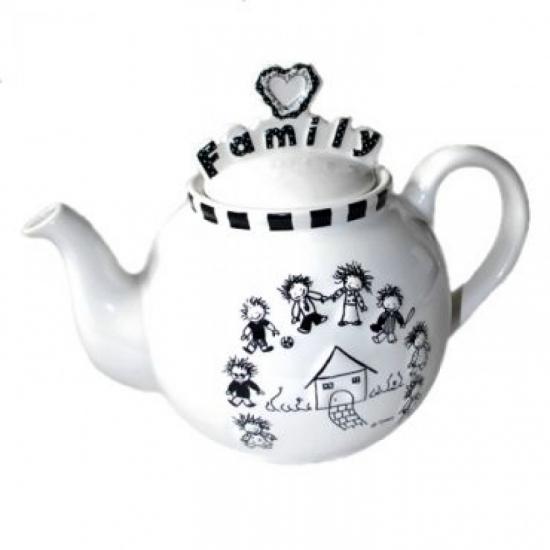 Фото - Чайник Семья купить в киеве на подарок, цена, отзывы
