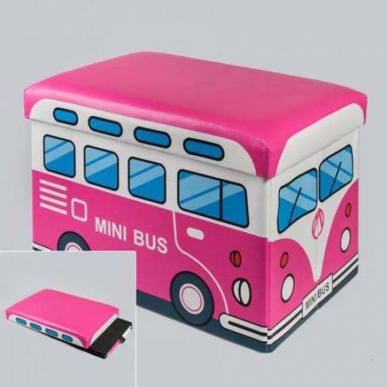 Фото - Ящики-сидения для игрушек в виде автобуса купить в киеве на подарок, цена, отзывы