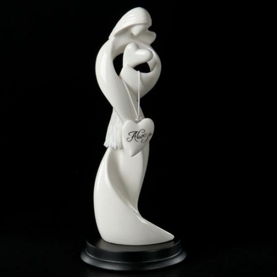 Фото - Скульптура Навсегда в сердце купить в киеве на подарок, цена, отзывы