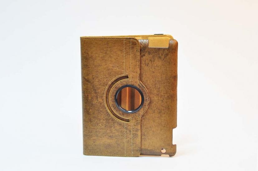 Фото - Чехол для IPad коричневый 9.7 купить в киеве на подарок, цена, отзывы