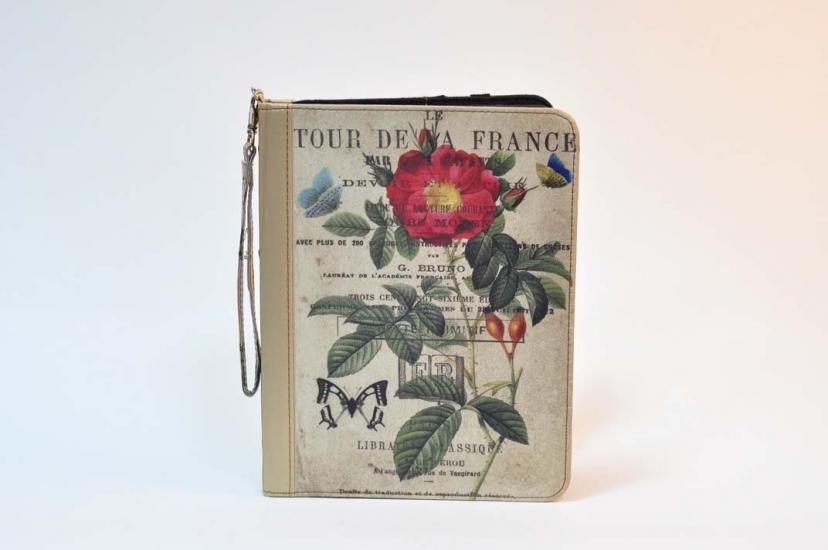 Фото - Чехол для IPad шелк Роза 9.7 купить в киеве на подарок, цена, отзывы