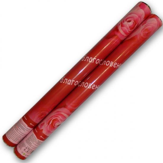 Фото - Хлопушка 40 см с лепестками СУПЕР купить в киеве на подарок, цена, отзывы