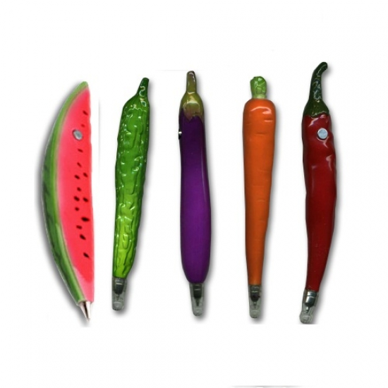 Фото - Ручка Баклажан, перчики, морковка купить в киеве на подарок, цена, отзывы