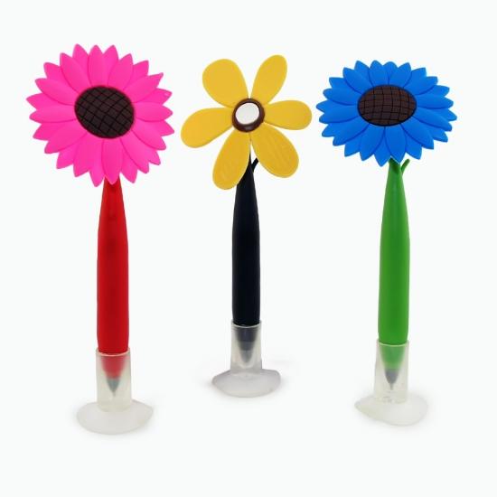 Фото - Ручка Цветок с колпачком купить в киеве на подарок, цена, отзывы