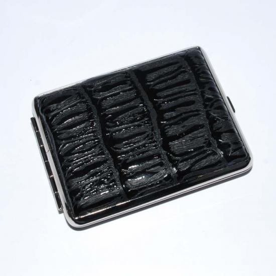 Фото - Портсигар кожа черный купить в киеве на подарок, цена, отзывы