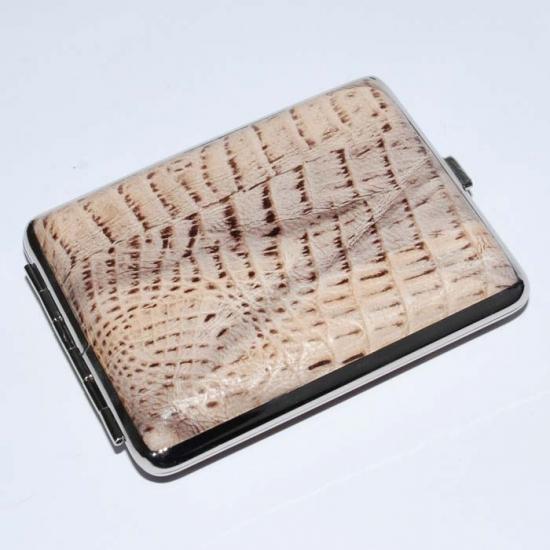 Фото - Портсигар кожа крокодил купить в киеве на подарок, цена, отзывы
