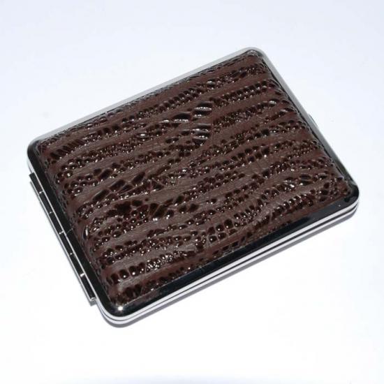 Фото - Портсигар кожа коричневый купить в киеве на подарок, цена, отзывы