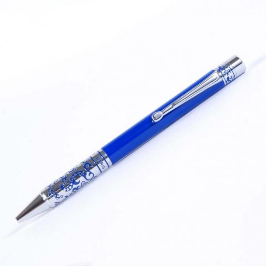 Фото - Ручка шариковая Mughal Blue купить в киеве на подарок, цена, отзывы