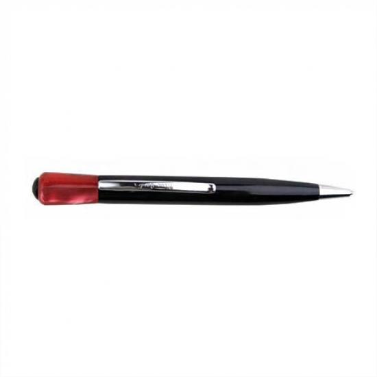 Фото - Ручка шариковая с красным акрилом купить в киеве на подарок, цена, отзывы