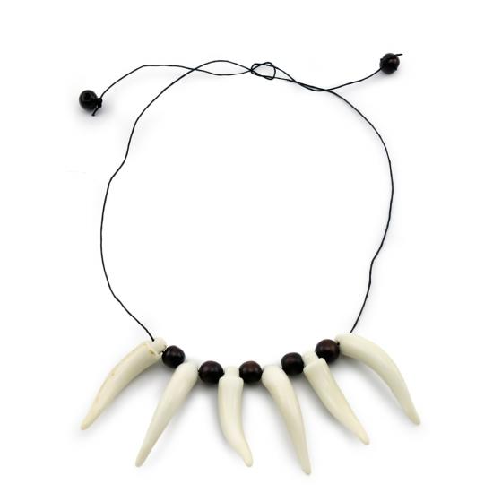 Фото - Бусы Туземки с зубами купить в киеве на подарок, цена, отзывы