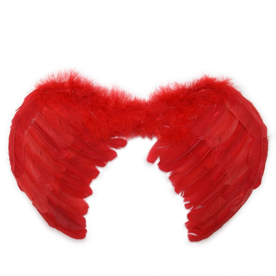 Фото - Крылья Ангела Маленькие 45х35 (красные) купить в киеве на подарок, цена, отзывы