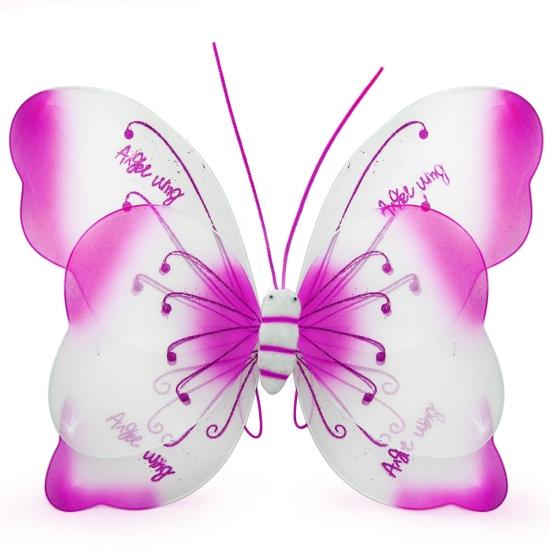 Фото - Крылья Бабочки Комбинированные (малиновые) 55х50 см купить в киеве на подарок, цена, отзывы