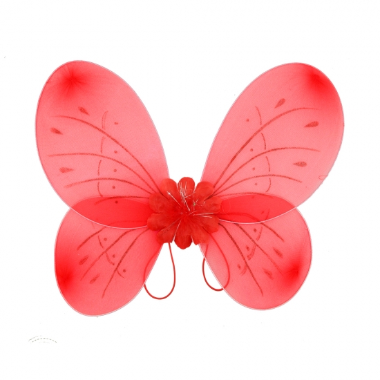 Фото - Крылья Бабочки средние (красные) 52х44 см купить в киеве на подарок, цена, отзывы