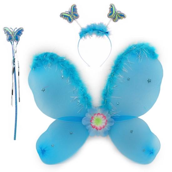 Фото - Набор Бабочки с пухом (3 цвета) купить в киеве на подарок, цена, отзывы