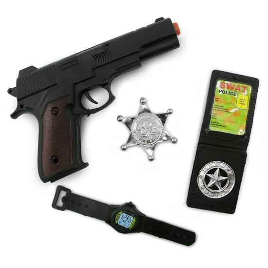Фото - Набор полицейского (4 предмета) купить в киеве на подарок, цена, отзывы