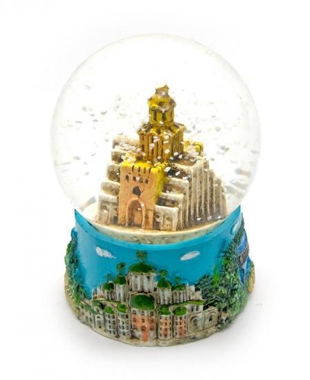 Фото - Шар со снегом Золотые Ворота мини купить в киеве на подарок, цена, отзывы
