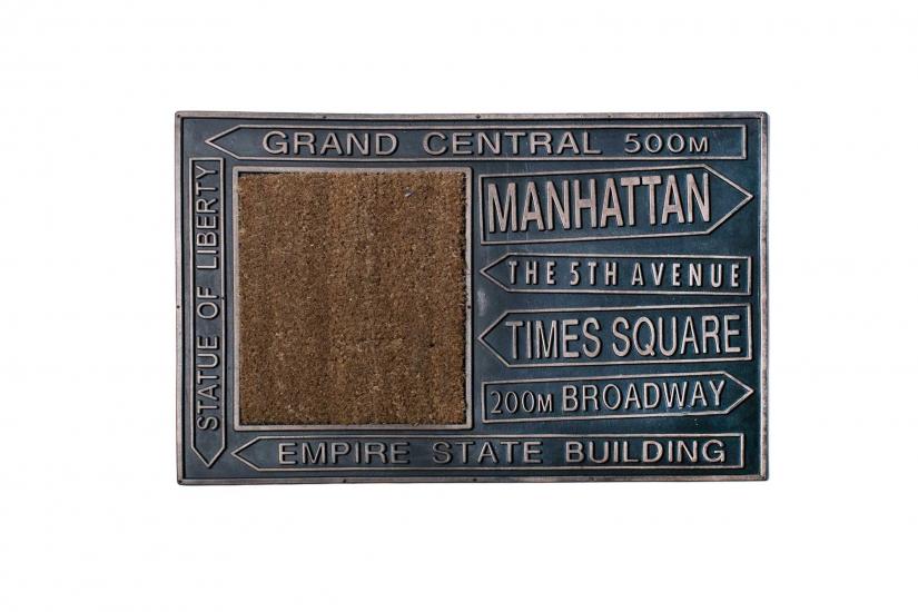 Фото - Коврик в прихожую Manhattan 60 см купить в киеве на подарок, цена, отзывы