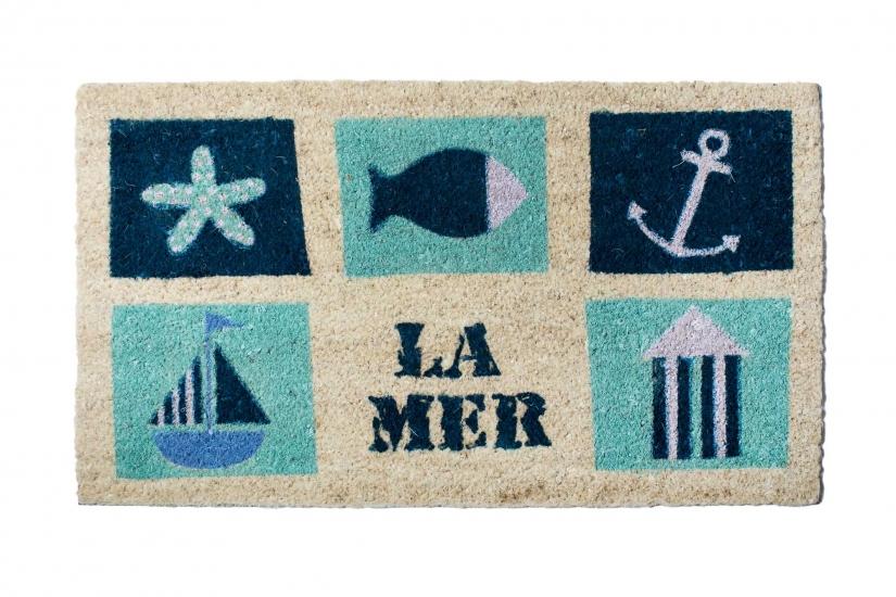 Фото - Коврик в прихожую La Mer 75 см купить в киеве на подарок, цена, отзывы