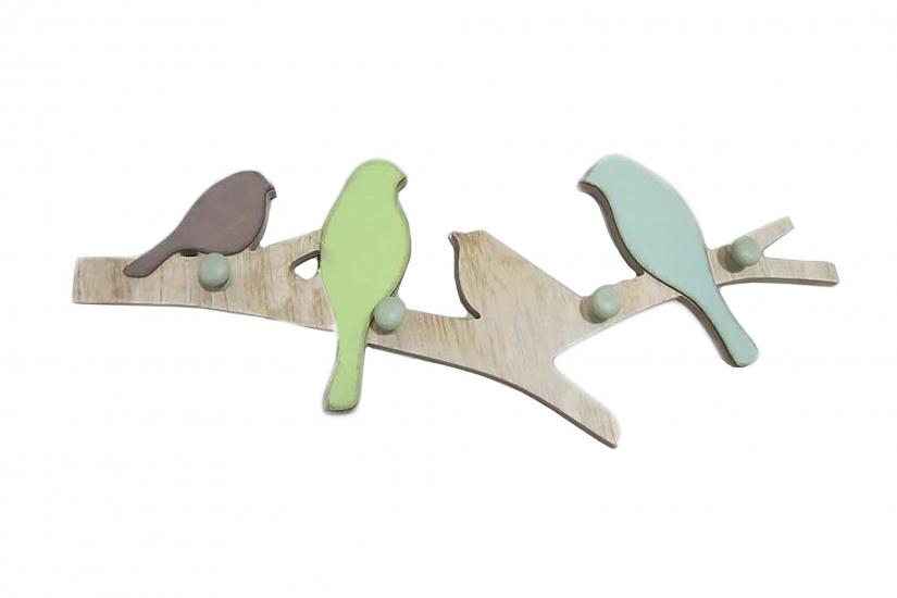 Фото - Крючки настенные Птички купить в киеве на подарок, цена, отзывы