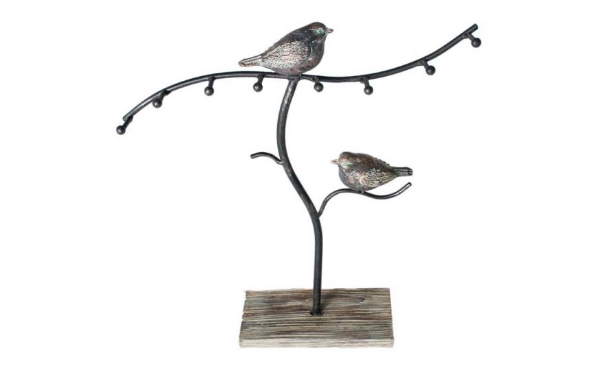 Фото - Вешалка для украшений Птички на ветке купить в киеве на подарок, цена, отзывы