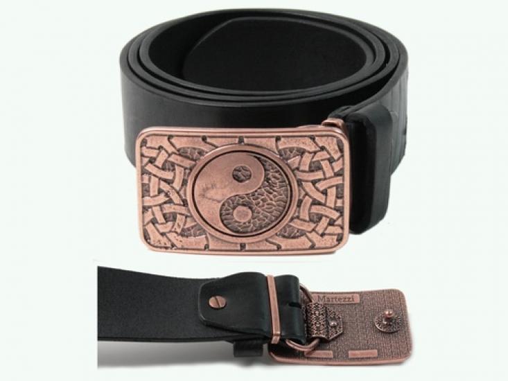 Фото - Мужской кожаный ремень Инь-Янь купить в киеве на подарок, цена, отзывы