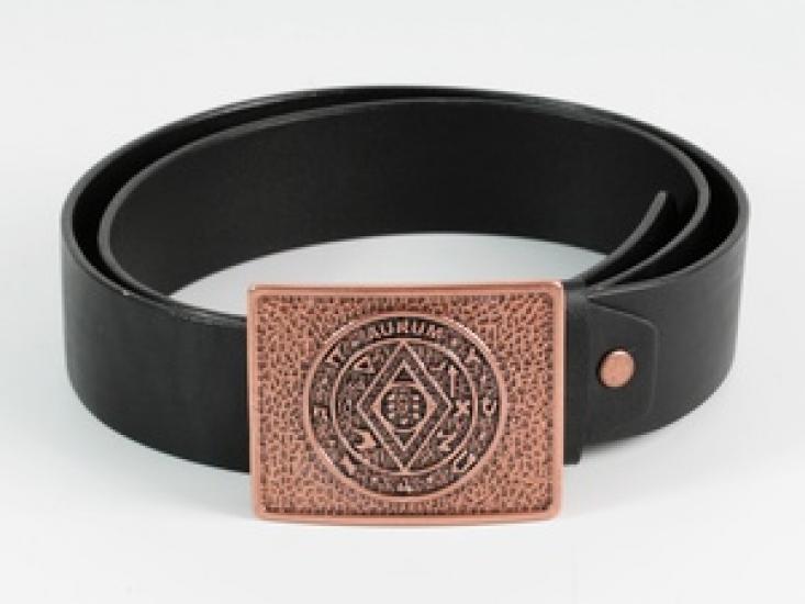 Фото - Кожаный ремень Магическая Пентакль Соломона купить в киеве на подарок, цена, отзывы