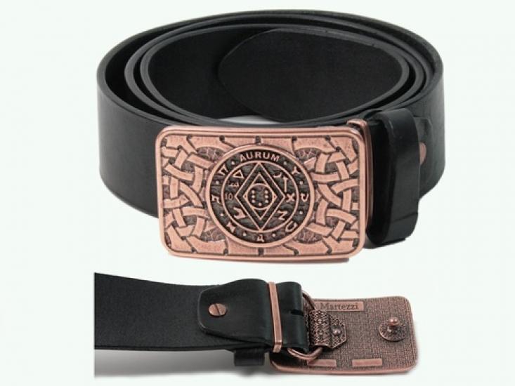 Фото - Кожаный ремень Маг.Пентакль Соломона купить в киеве на подарок, цена, отзывы