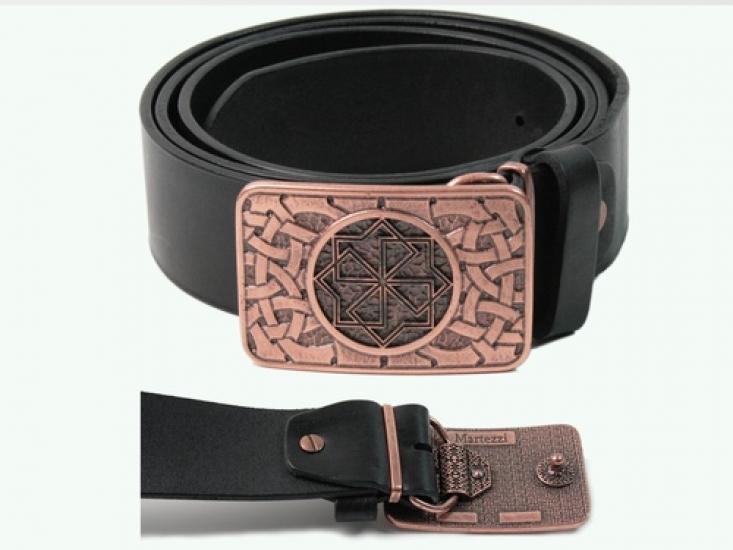 Фото - Мужской кожаный ремень Молвинец купить в киеве на подарок, цена, отзывы