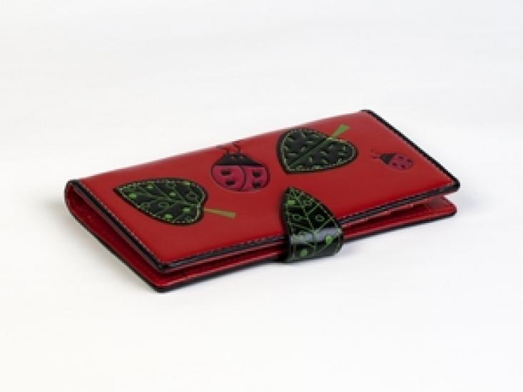 Фото - Кошелек Божья Коровка Красный купить в киеве на подарок, цена, отзывы