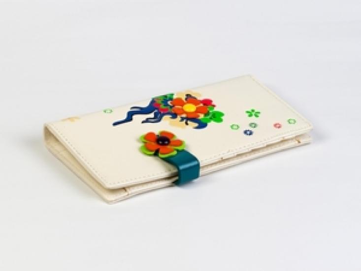 Фото - Женский кошелек Венок белый купить в киеве на подарок, цена, отзывы