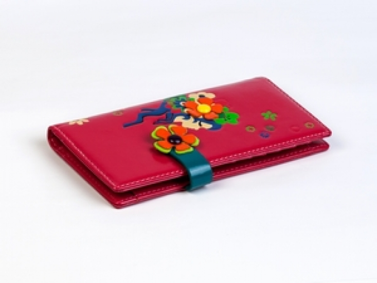 Фото - Женский кошелек Венок Розовый купить в киеве на подарок, цена, отзывы