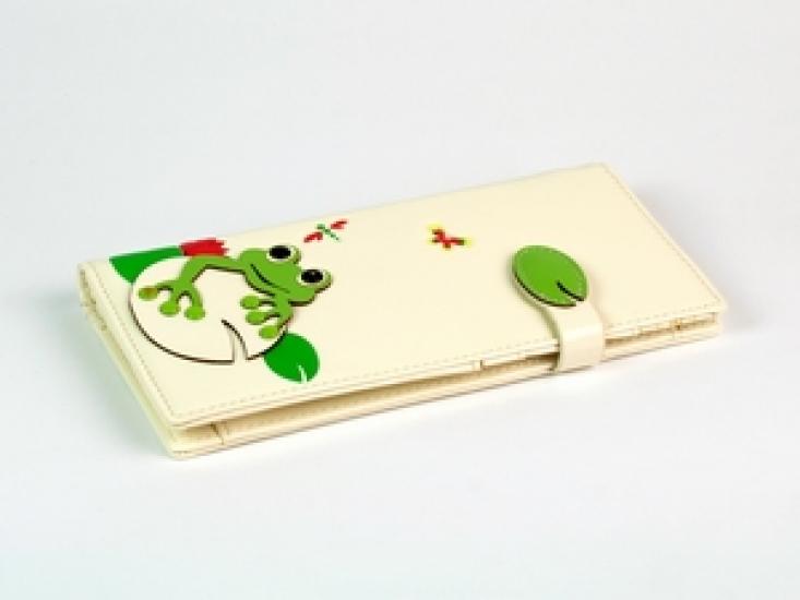 Фото - Женский кошелек с жабкой купить в киеве на подарок, цена, отзывы