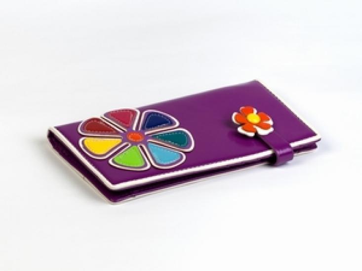 Фото - Кошелек Цветик-Семицветик фиолетовый купить в киеве на подарок, цена, отзывы