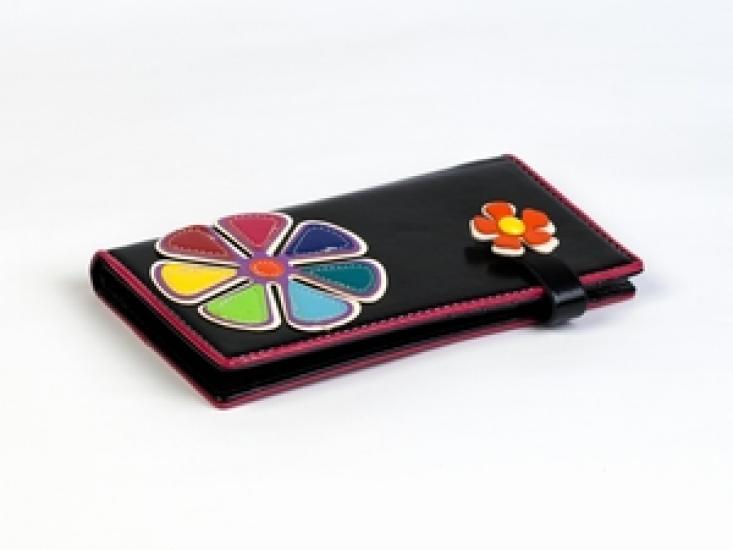 Фото - Кошелек Цветик-Семицветик черный купить в киеве на подарок, цена, отзывы