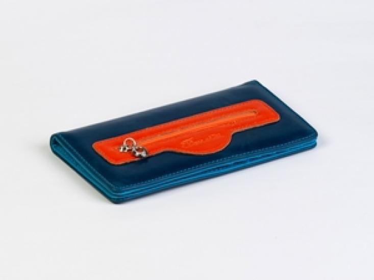 Фото - Женский кошелек Кейсис (синий-красный) купить в киеве на подарок, цена, отзывы