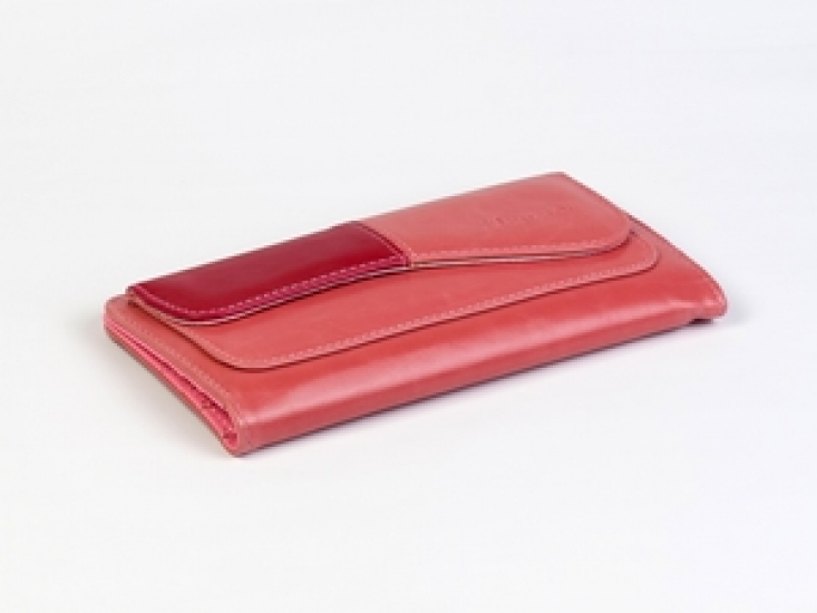 Фото - Кошелек Хоской (Розовый-бордовый) купить в киеве на подарок, цена, отзывы
