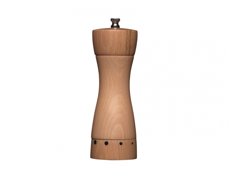 Фото - MC Мельница для перца из бука регулируемая 18 см купить в киеве на подарок, цена, отзывы