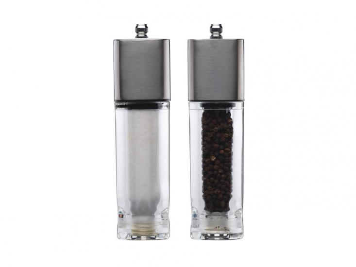 Фото - MC Набор мельниц для соли и перца из нержавеющей стали 18 см купить в киеве на подарок, цена, отзывы