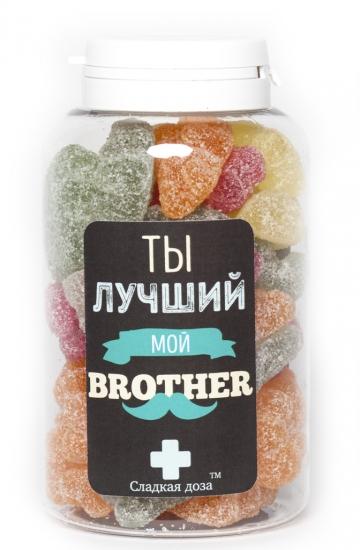 Фото - Сладкая доза Лучшему брату купить в киеве на подарок, цена, отзывы