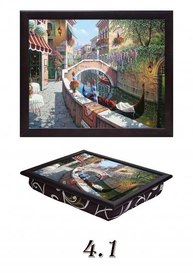 Фото - Поднос с подушкой Венеция купить в киеве на подарок, цена, отзывы